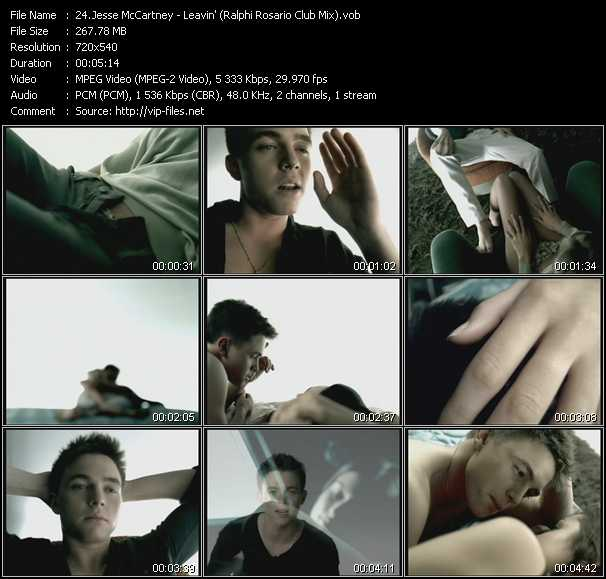 Jesse McCartney - Leavin' (Ralphi Rosario Club Mix)