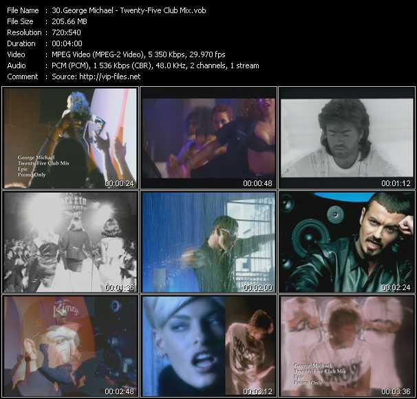 George Michael - Twenty-Five Club Mix