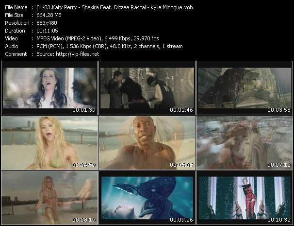 Katy Perry - Shakira Feat. Dizzee Rascal - Kylie Minogue - Firework - Loca (Freemasons Club Mix) - Get Outta My Way (PO Intro Edit)