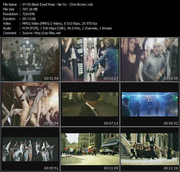 Black Eyed Peas - Ne-Yo - Chris Brown - The Time (Dirty Bit) - Beautiful Monster (PO Intro Edit) - Yeah 3X