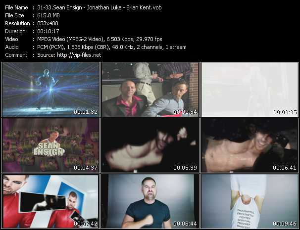 Sean Ensign - Jonathan Luke - Brian Kent - Amazing (7th Heaven Remix) - Joy Toy 2.0 (Majik Boys Mix) (ISV Video Mix By Jonathan Luke) - I'll Find A Way