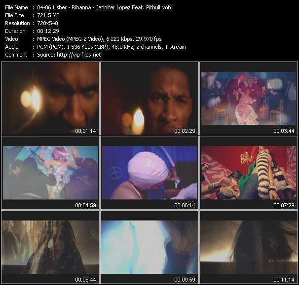 Usher - Rihanna - Jennifer Lopez Feat. Pitbull - More (RedOne Jimmy Joker Remix) - S And M (PO Intro Edit) - On The Floor (PO Intro Edit)