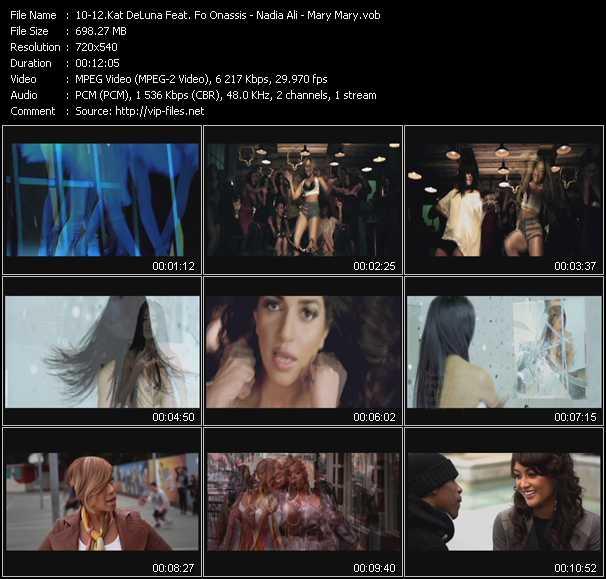 Kat DeLuna Feat. Fo Onassis - Nadia Ali - Mary Mary - Dancing Tonight - Rapture (PO Avicii New Generation Mix) - Walking (PO Dave Aude' Intro Edit)