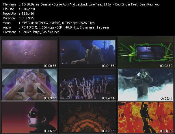 Benny Benassi - Steve Aoki And Laidback Luke Feat. Lil' Jon - Bob Sinclar Feat. Sean Paul - House Music - Turbulence - Tik Tok