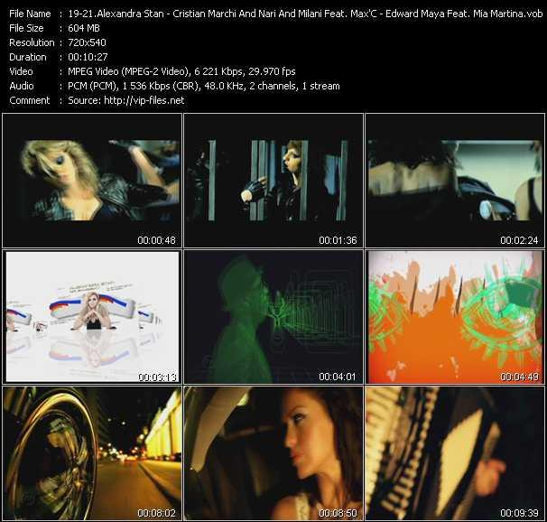 Alexandra Stan - Cristian Marchi And Nari And Milani Feat. Max'C - Edward Maya Feat. Mia Martina - Mr. Saxobeat - I Got You (Antillas And Dankann Inda House Cut) - Stereo Love