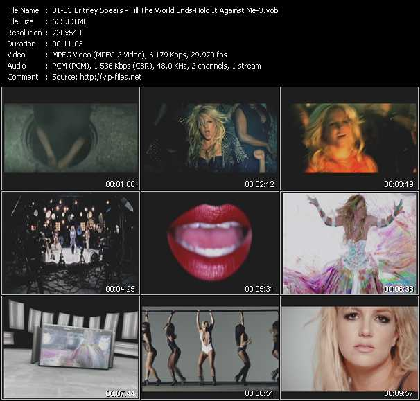 Britney Spears - Till The World Ends - Hold It Against Me - 3