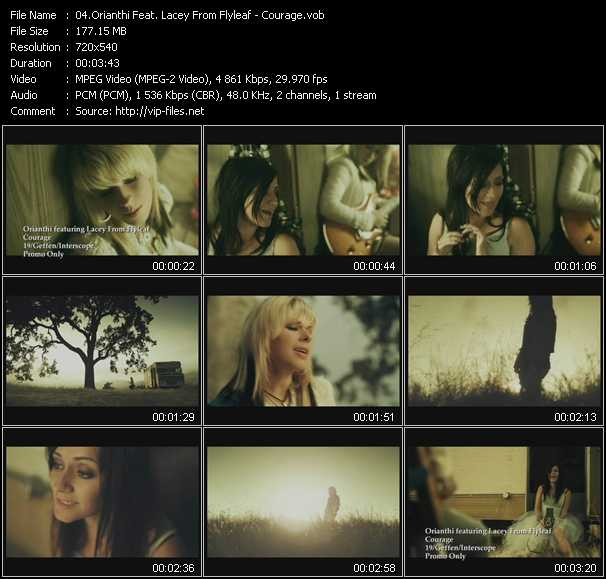 Orianthi Feat. Lacey From Flyleaf - Courage