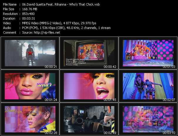 David Guetta Feat. Rihanna - Who's That Chick?