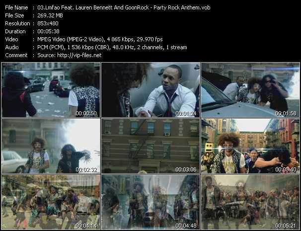 Lmfao Feat. Lauren Bennett And GoonRock - Party Rock Anthem