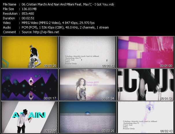 Cristian Marchi And Nari And Milani Feat. Max'C - I Got You