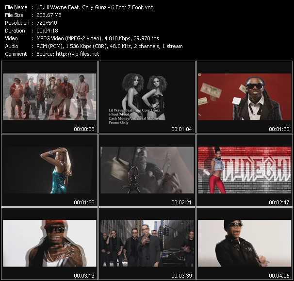Lil' Wayne Feat. Cory Gunz - 6 Foot 7 Foot