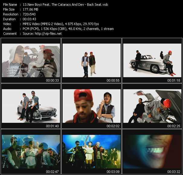 New Boyz Feat. The Cataracs And Dev - Back Seat