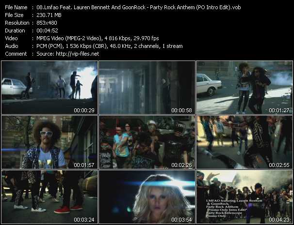 Lmfao Feat. Lauren Bennett And GoonRock - Party Rock Anthem (PO Intro Edit)