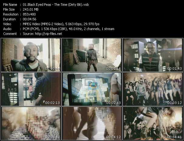 Black Eyed Peas - The Time (Dirty Bit)