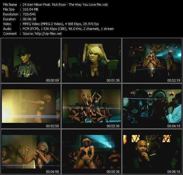 Keri Hilson Feat. Rick Ross - The Way You Love Me