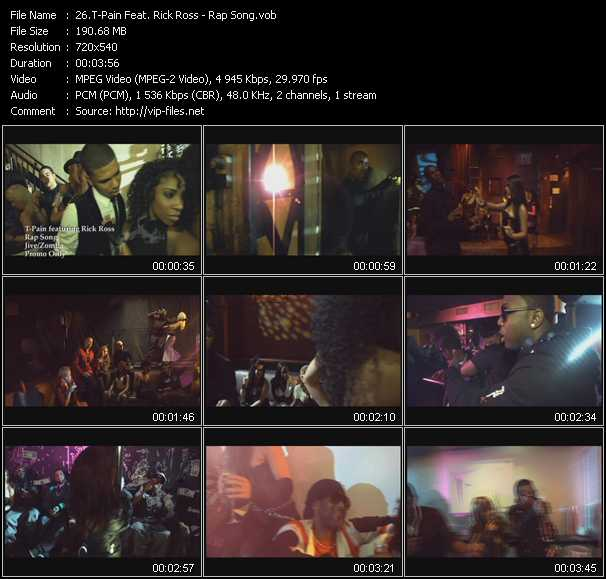 T-Pain Feat. Rick Ross - Rap Song