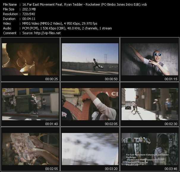 Far East Movement Feat. Ryan Tedder - Rocketeer (PO Bimbo Jones Intro Edit)