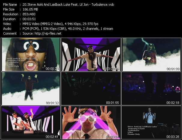 Steve Aoki And Laidback Luke Feat. Lil' Jon - Turbulence