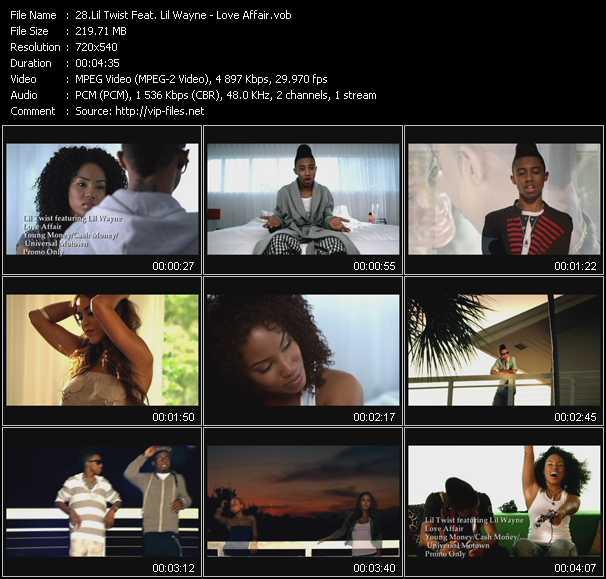 Lil' Twist Feat. Lil' Wayne - Love Affair