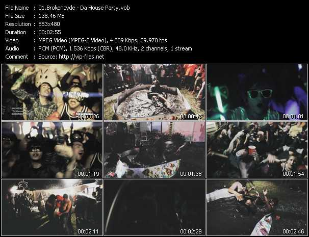 Brokencyde - Da House Party
