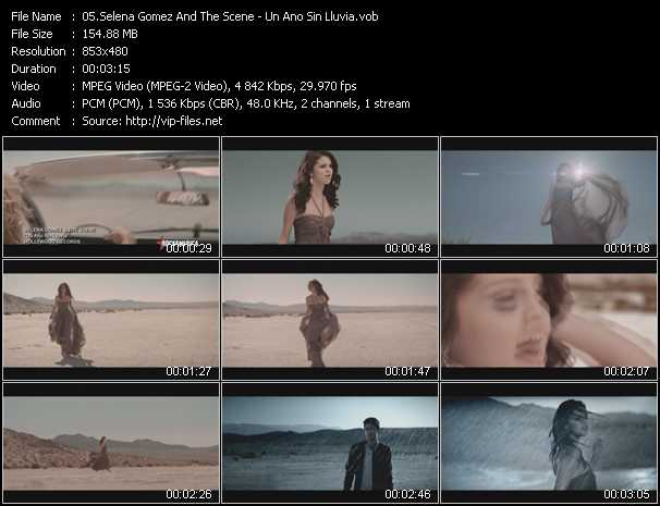 Selena Gomez And The Scene - Un Ano Sin Lluvia