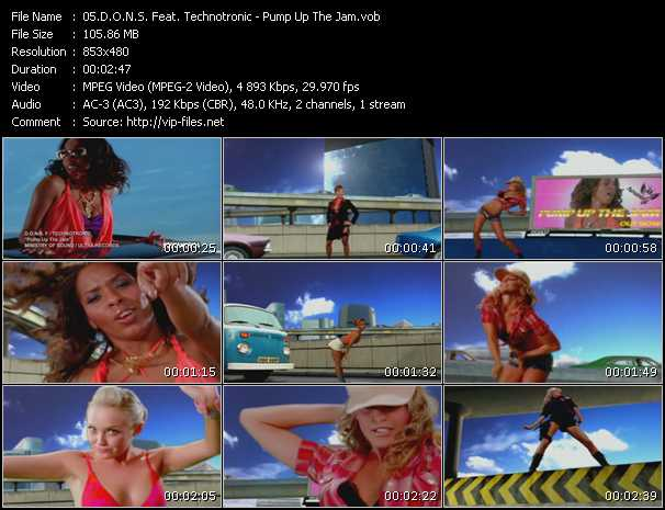 D.O.N.S. Feat. Technotronic - Pump Up The Jam