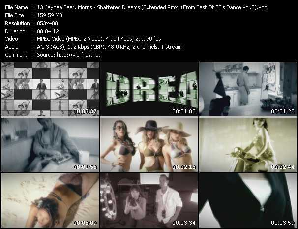 Jaybee Feat. Morris - Shattered Dreams (Extended Remix) (From Best Of 80's Dance Vol.3)