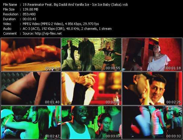 Reanimator Feat. Big Daddi And Vanilla Ice - Ice Ice Baby (Salsa)