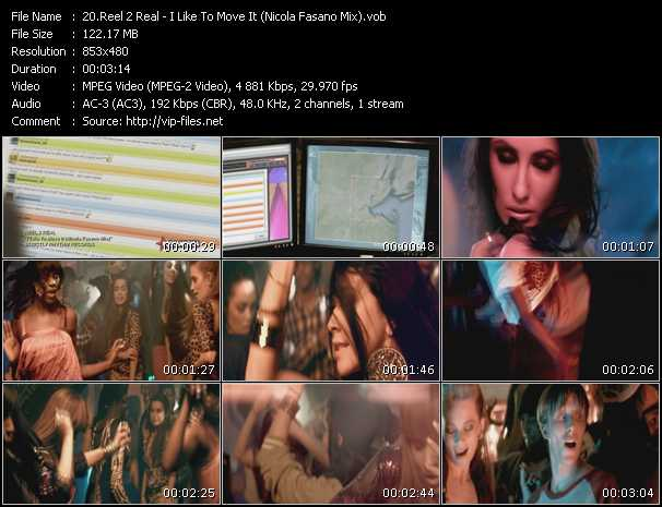 Reel 2 Real - I Like To Move It (Nicola Fasano Mix)