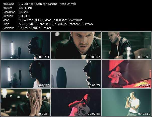 Regi Feat. Stan Van Samang - Hang On