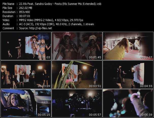 Rls Feat. Sandra Godoy - Festa (Rls Summer Mix Extended)