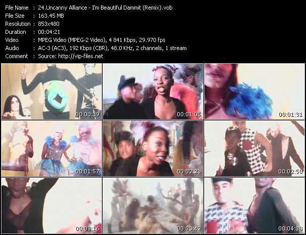 Uncanny Alliance - I'm Beautiful Dammit (Remix)