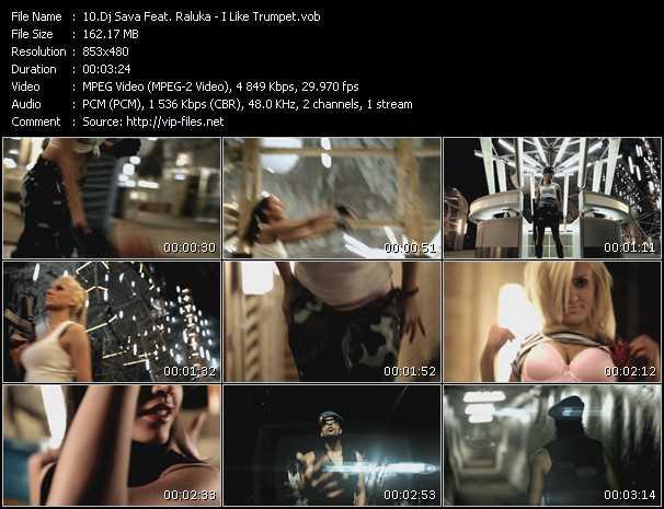 Dj Sava Feat. Raluka - I Like Trumpet