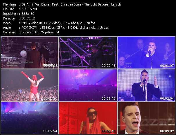 Armin Van Buuren Feat. Christian Burns - The Light Between Us