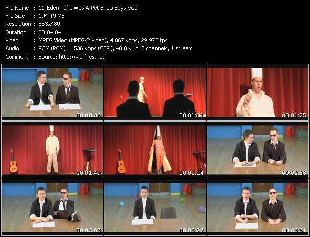 Eden - If I Was A Pet Shop Boys