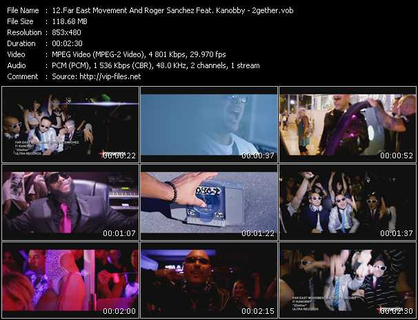 Far East Movement And Roger Sanchez Feat. Kanobby - 2gether