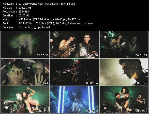 Gabry Ponte Feat. Maya Days - Sexy Dj