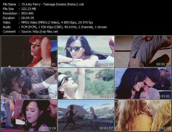 Katy Perry - Teenage Dreams (Remix)