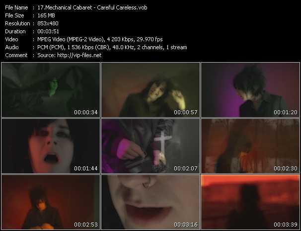 Mechanical Cabaret - Careful Careless