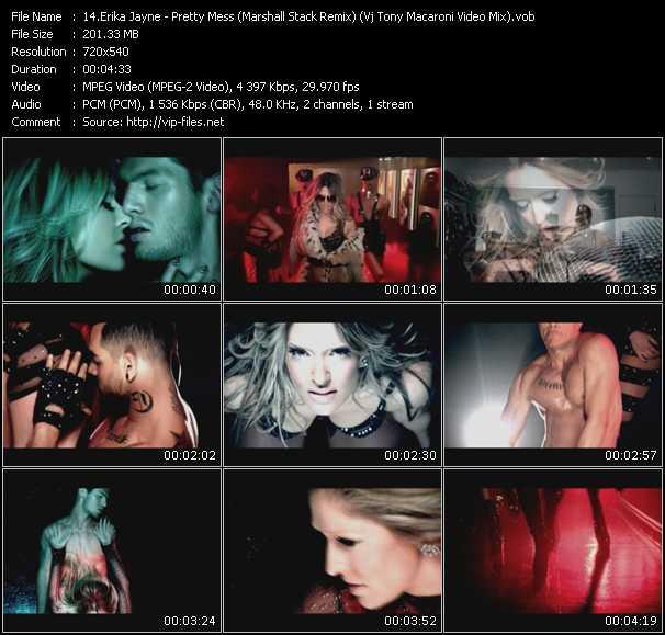 Erika Jayne - Pretty Mess (Marshall Stack Remix) (Vj Tony Macaroni Video Mix)
