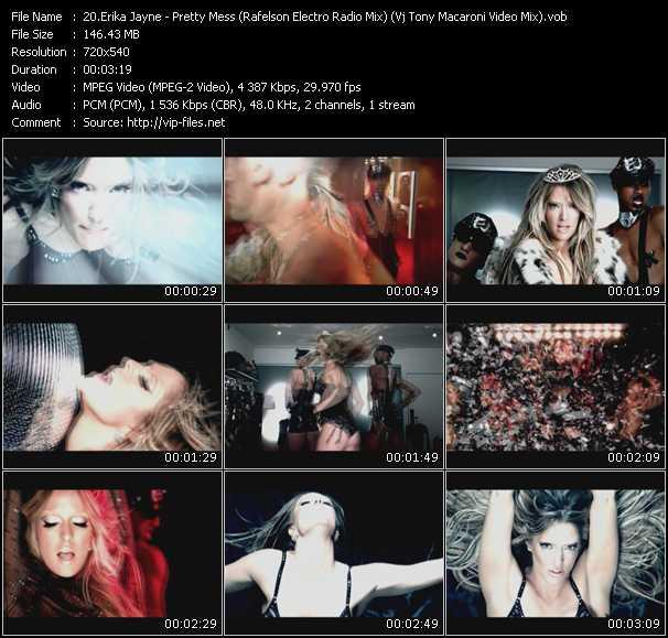 Erika Jayne - Pretty Mess (Rafelson Electro Radio Mix) (Vj Tony Macaroni Video Mix)