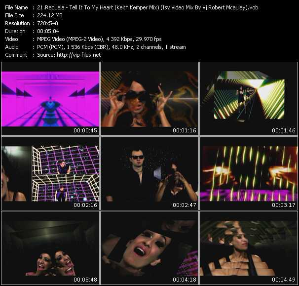 Raquela - Tell It To My Heart (Keith Kemper Mix) (Isv Video Mix By Vj Robert Mcauley)