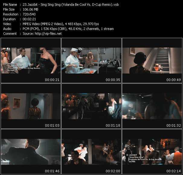 Jazzbit - Sing Sing Sing (Yolanda Be Cool Vs. D-Cup Remix)