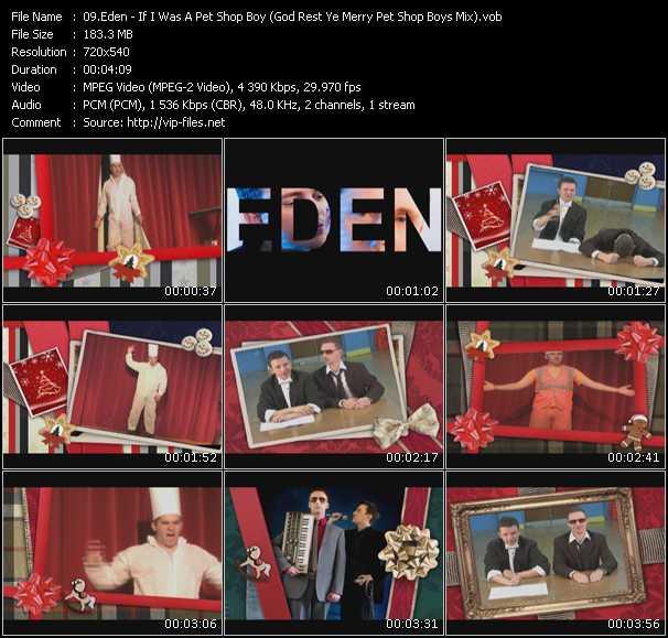 Eden - If I Was A Pet Shop Boy (God Rest Ye Merry Pet Shop Boys Mix) (Isv Video Mix By Dorian Grobier)