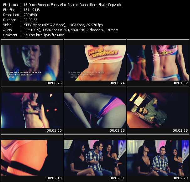 Jump Smokers Feat. Alex Peace - Dance Rock Shake Pop