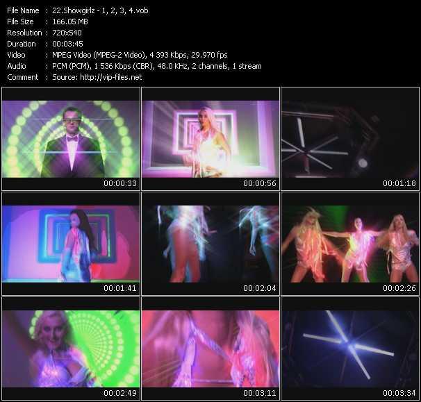 Showgirlz - 1, 2, 3, 4