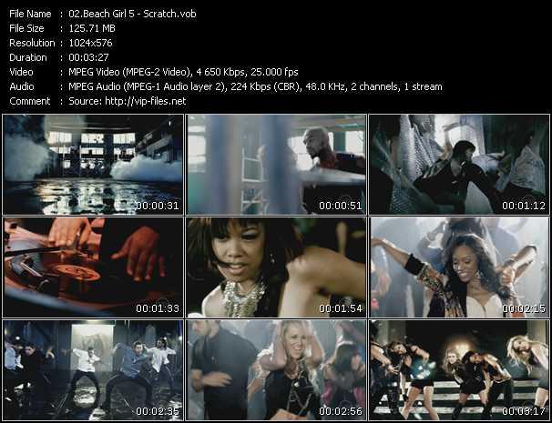 Beach Girl5 (BG5) - Scratch