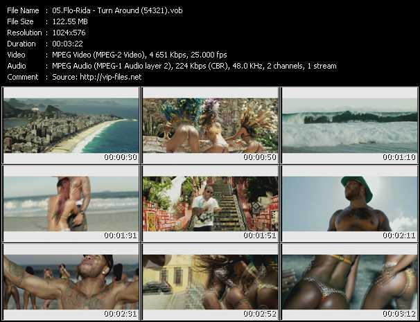 Flo Rida - Turn Around (54321)