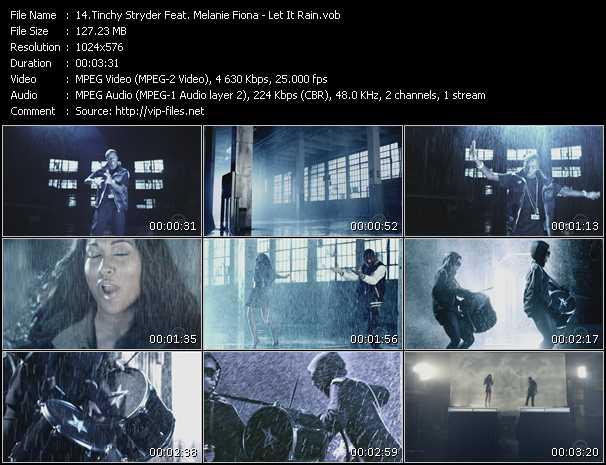 Tinchy Stryder Feat. Melanie Fiona - Let It Rain