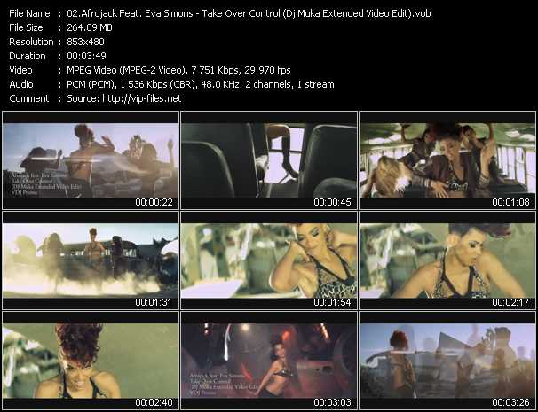 Afrojack Feat. Eva Simons - Take Over Control (Dj Muka Extended Video Edit)